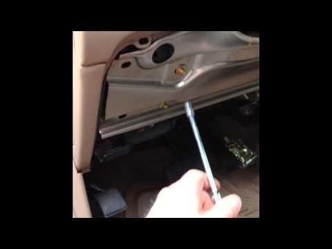 2000 Ford Explorer Shift Lever Indicator Fix - YouTube