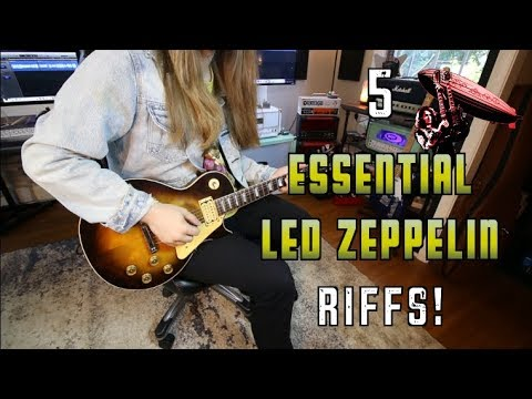 5 Essential Led Zeppelin Riffs