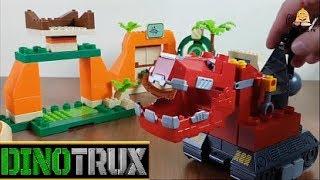 Dinozor Makineler - Dinotrux Mega Construx Bloks Toys-Ty-Rex-D-Structs-Tonton-Garby