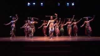 Eva Sampedro - Indian Tribal Fusion (Silent Ganges & Ceremony of Passage)(01-06-2014)