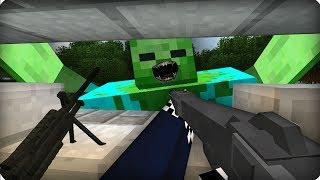 Опасная игра [ЧАСТЬ 45] Зомби апокалипсис в майнкрафт! - (Minecraft - Сериал)