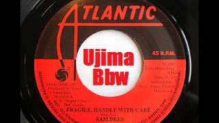 SAM DEES   Fragile Handle With Care   ATLANTIC RECORDS   1975