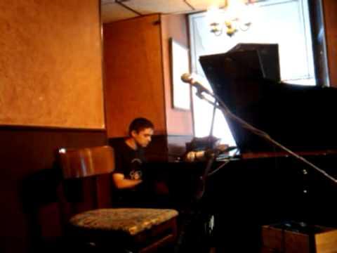 Cafe Vivaldi Open Mic Night - Greenwich Village, New York City.