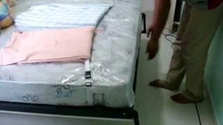 Wallbed Concept&design,hiddenbed,hidden Wall Bed,(queensize)modular Set-wardrobe+table+shelves