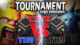 CLASH OF CLANS TH9 VS TH9 HUGE EVENT 😍😍