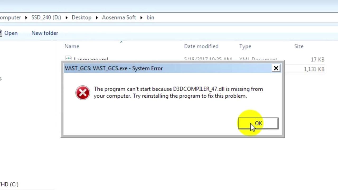 d3dcompiler_47 dll free download windows 7 64 bit