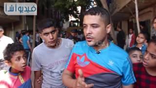 بالفيديو احد سكان عقار الزاوية الحمراء: مش عارفين هنعمل ايه