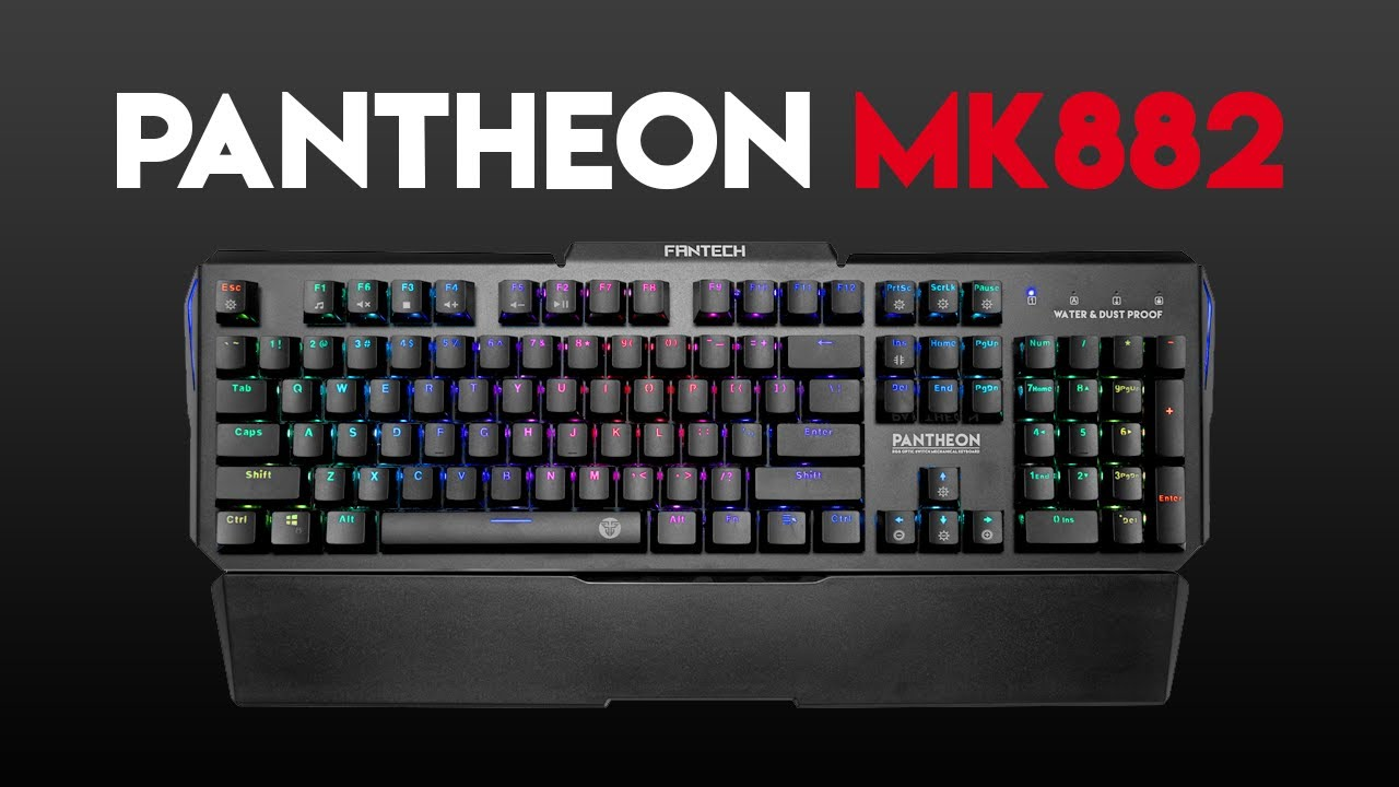 PANTHEON MK882 RGB Optical Switch Keyboard