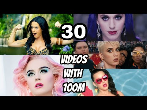 Top 10 Music Artists with the most 100M Views on Music Videos
