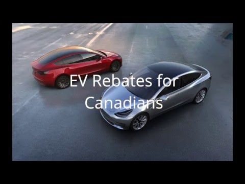 Canadian EV Rebates Explained
