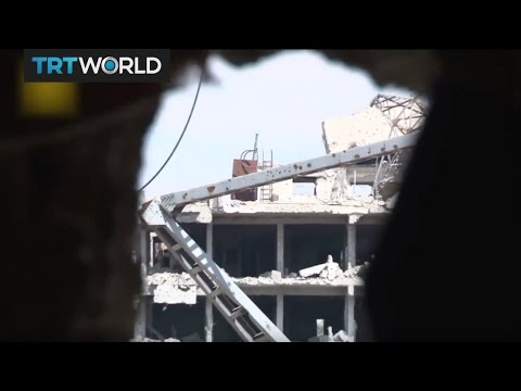 The War in Syria: Rebel forces launch new attack in Damascus