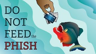 Phishing: How to  spot it and what to do.