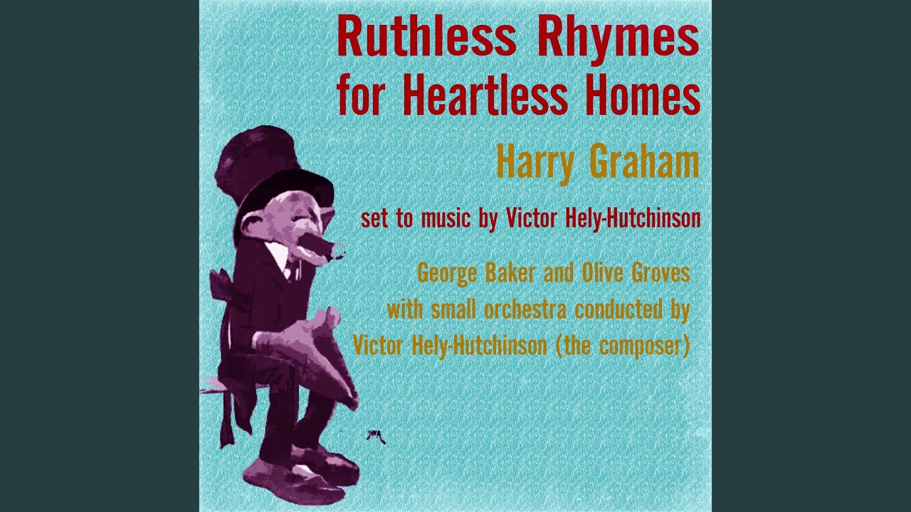 Ruthless Rhymes Heartless Homes, First Edition