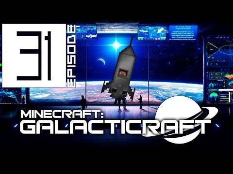 Minecraft: Galacticraft #31 - Space Stations Repairs