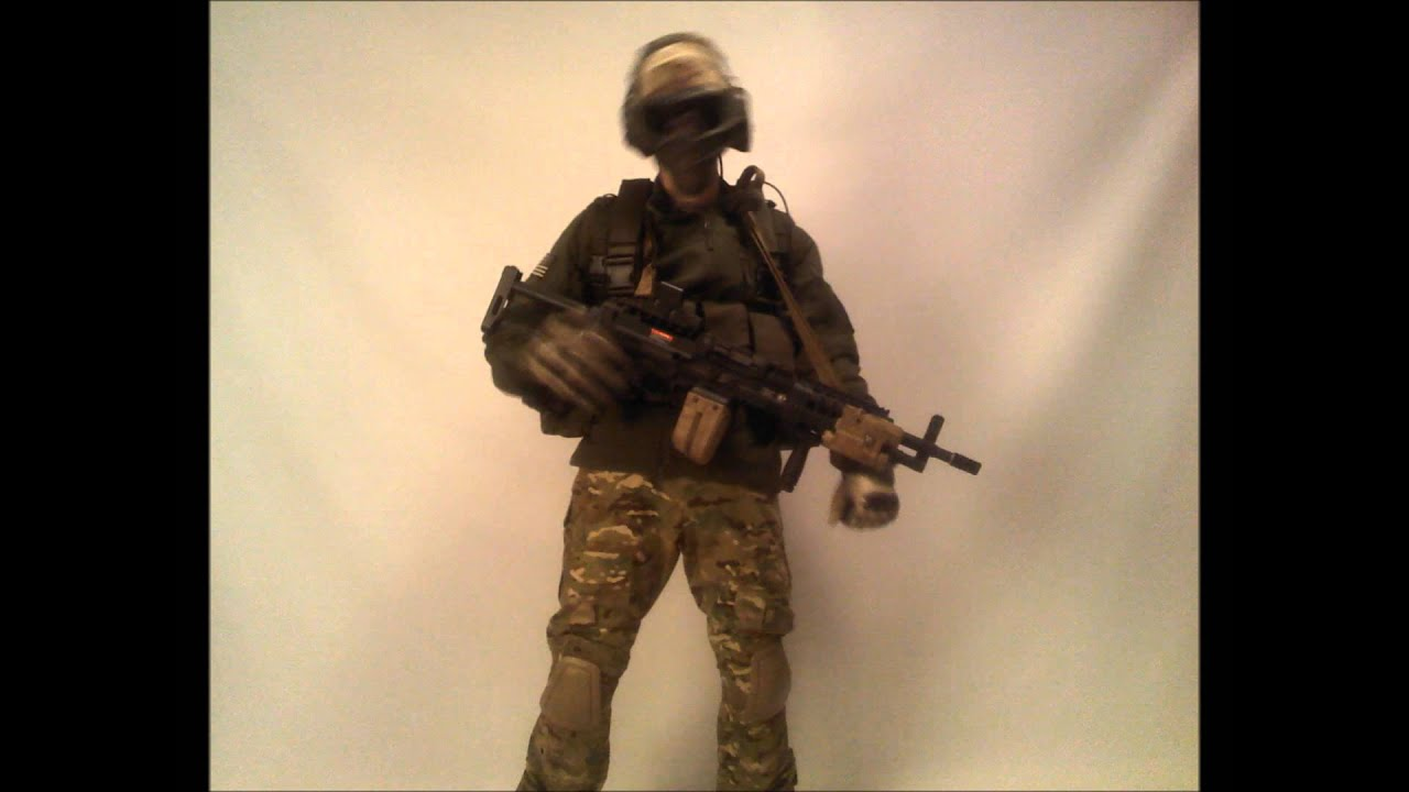 airsoft multicam support gunner loadout w ares lmg ghost