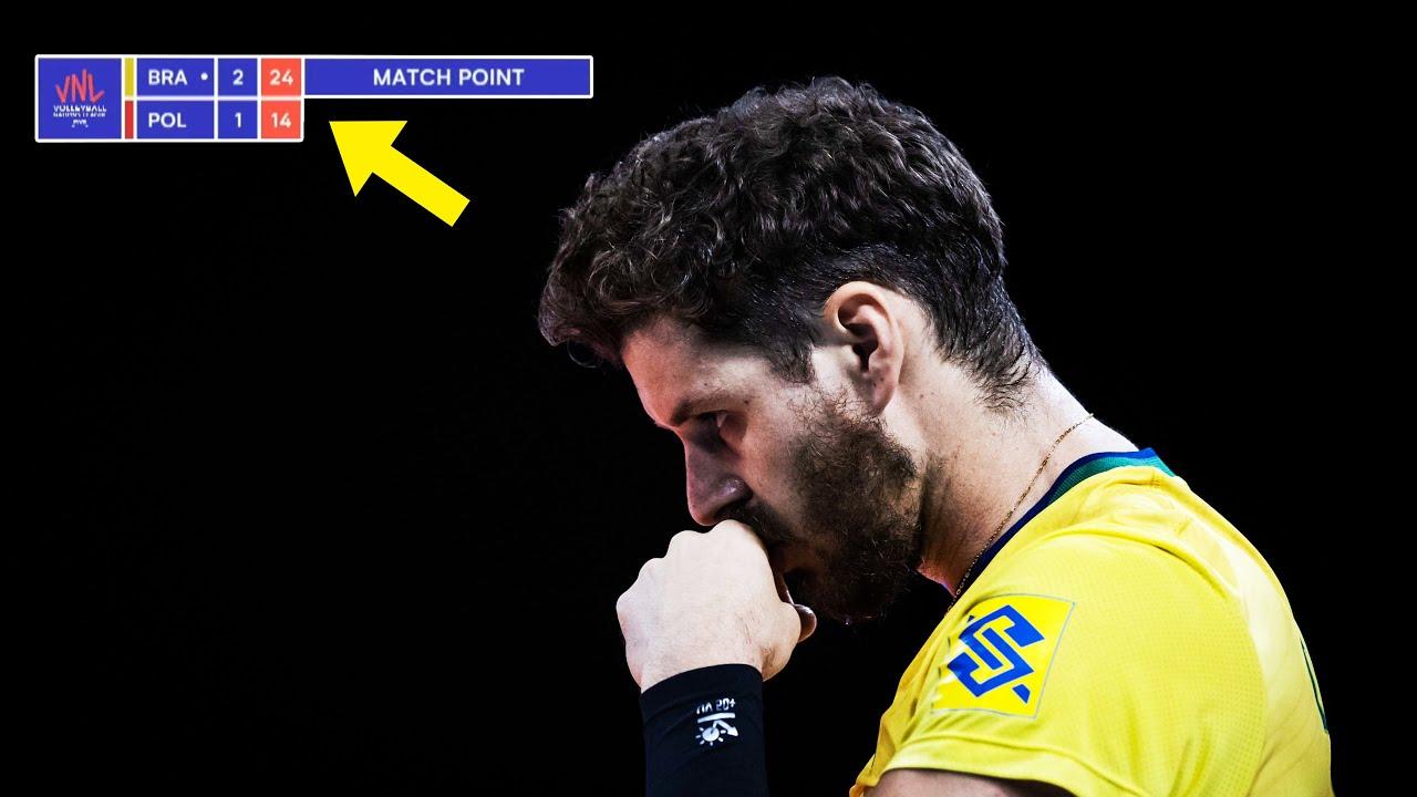 Download LEGENDARY MATCH | Brazil vs Poland | GOLD Medal Match | Men's VNL 2021