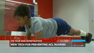 Preventing ACL Injuries - dorsaVi Wearable Technology Featured on Fox 6 News