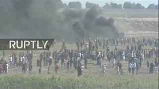 Live: 'March of Return' protest continues in Gaza Strip - Part 2