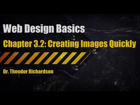 Web Design Basics: Creating Images Quickly