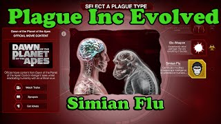 Plague Inc Evolved - Simian Flu