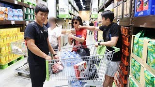 Огромный закуп еды в Корее/ Готовимся ко дню рождения!