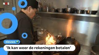 Heel dorp eet Chinees eten om restaurant te redden