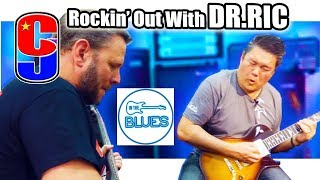 In The Blues | Dr. Ric | Holds The Line With Me