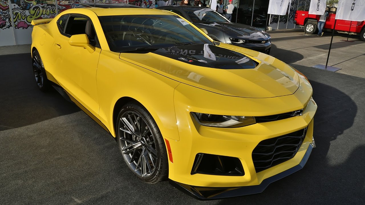 Closer Look Of The 2017 Camaro Zl1 And Much More