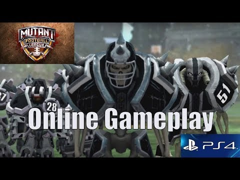 MUTANT FOOTBALL LEAGUE PS4 ONLINE GAMEPLAY (w/commentary)