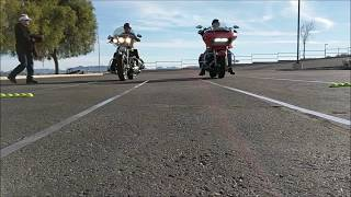 Yuma HOG Motorcycle Rodeo Games - Staggered Slow Ride