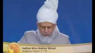 Jalsa Salana UK 2010 - Day 2 - Afternoon Session - Part 5 of 10