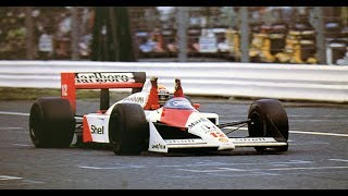 FIRST CHAMPIONSHIP FOR AYRTON SENNA VS ALAIN PROST - SUZUKA 1988