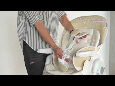 Chipolino Стол за хранене Джелато Скай #02Ld49awF9A
