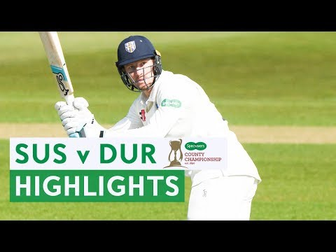 Bancroft Hits First Durham Century In Big Win At Hove | Sus v Dur | Specsavers County Championship