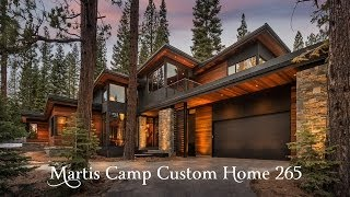 Sold Martis Camp Custom Home 265