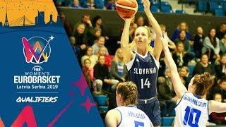 Iceland v Slovakia - Full Game - FIBA Women's EuroBasket 2019 - Qualifiers 2019