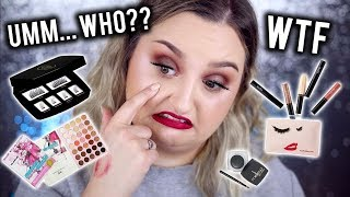 UM.. WHO?? | FULL FACE USING BRANDS I