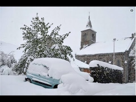 Several Feet of Snow in Europe, Late May (607)