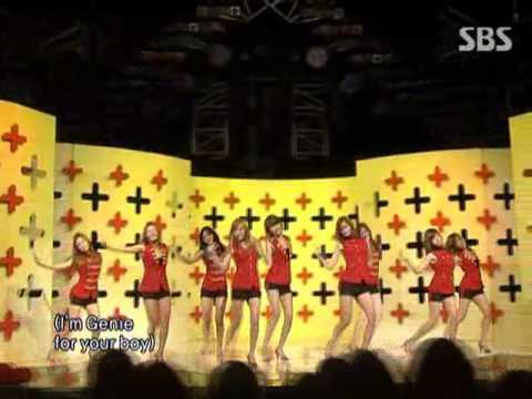 SNSD - Tell me your wish(소녀시대 - 소원을 말해봐) @ SBS Inkigayo 인기가요 090712