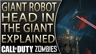 Giant Robot Heads in The Giant Explained | The Giant Storyline Explained