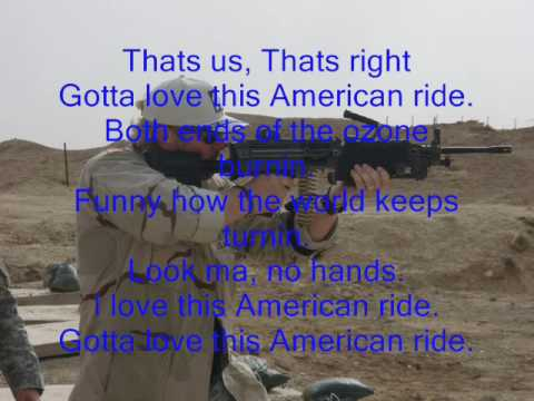 american ride by toby keith lyrics