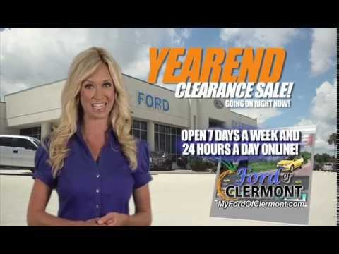 year end deals at ford of clermont youtube. Black Bedroom Furniture Sets. Home Design Ideas