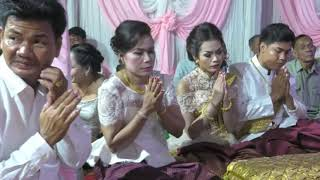 Khmer wedding events, Cambodia wedding ceremony,  Bride Tun Sokry, Groom Un Bunthoeun 2