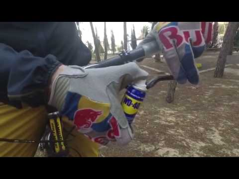 WD 40 used on Brake Lever