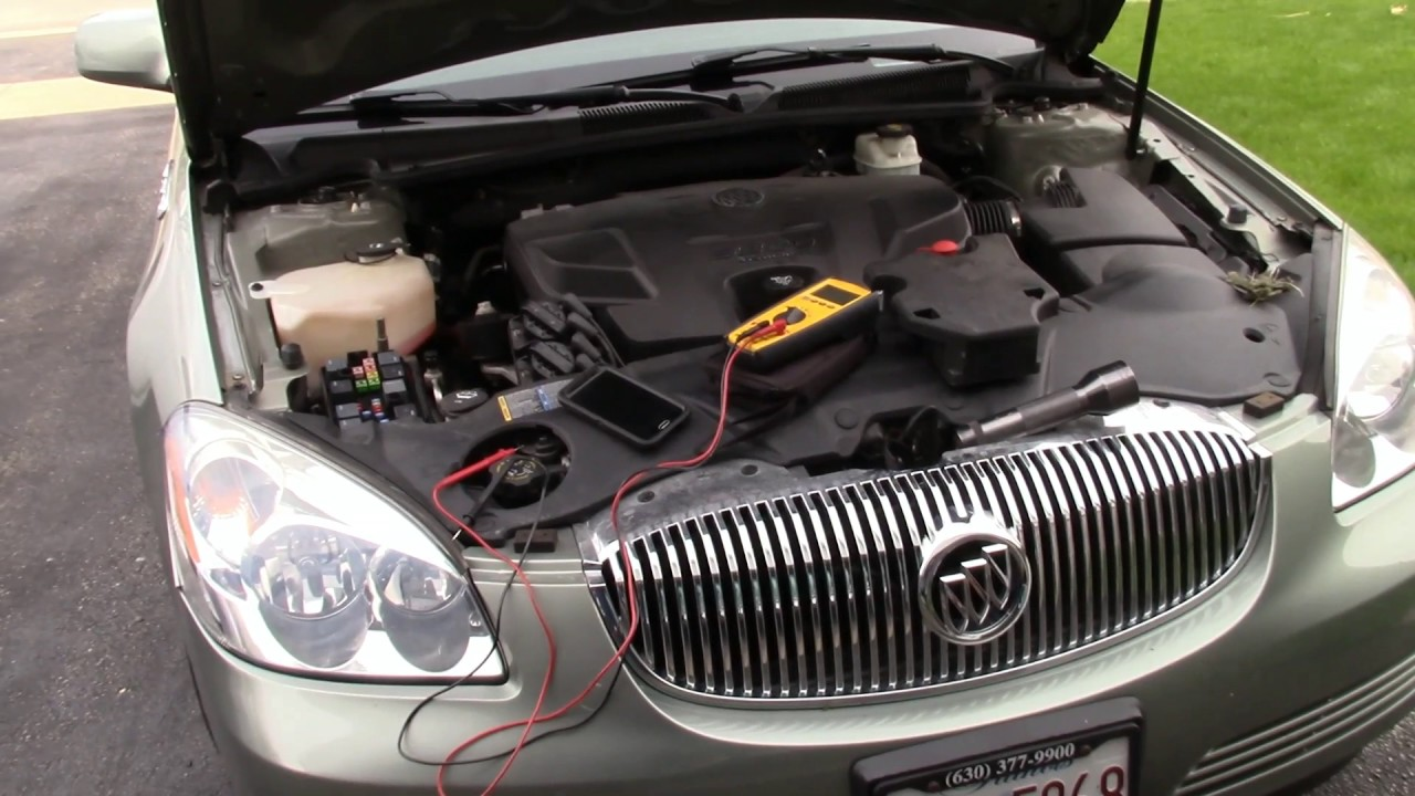 medium resolution of buick battery wiring wiring diagram go 2007 buick lucerne wiring youtube buick battery wiring