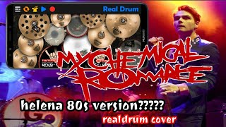 How If Helena From My Chemical Romance Goes 80s Ver.?? (realdrum cover)