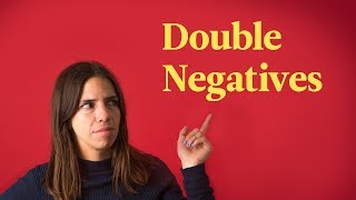 Double Negatives | Spanish In 60 Seconds