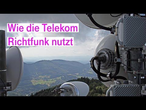 Social Media Post: Richtfunk: Wie und warum die Telekom diese Technik einsetzt