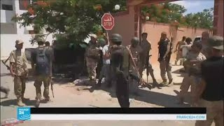 """بدء الضربات الأمريكية ضد تنظيم """"الدولة الإسلامية"""" في سرت الليبية"""