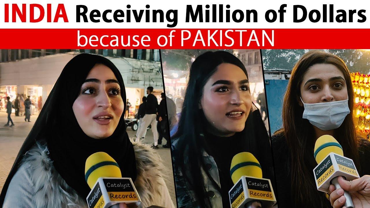 INDIA receiving Million of Dollars because of PAKISTAN - Pakistani Public Reaction